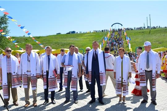 """Праздник песни, труда и спорта """"Акатуй-2019"""" в Яльчикском районе"""