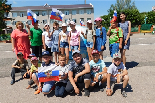 Вместе мы большая сила, вместе мы страна Россия!
