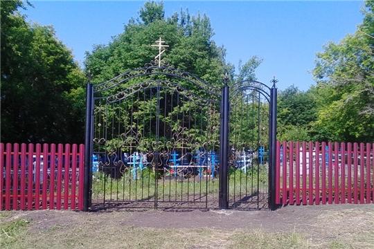 Благоустройство территории кладбища деревни Новое Изамбаево