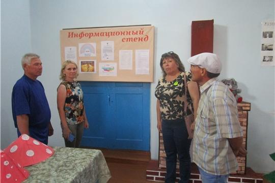 Выездная межведомственная комиссия на территории Малотаябинского сельского поселения