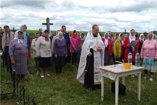 Троицкая родительская суббота в Большеяльчикском сельском поселении