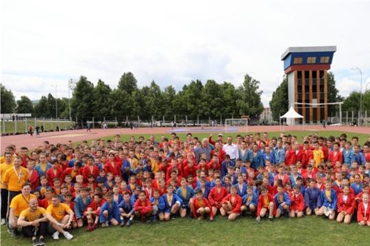 Мероприятия XXX Всероссийского олимпийского дня в Чебоксарах посетили более 2 тысяч человек