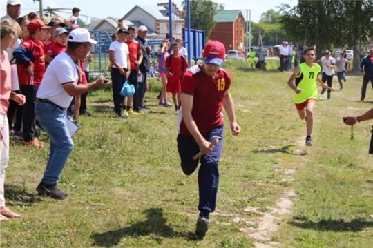 На районном этапе XV Спартакиады школьников, отдыхающих в пришкольных оздоровительных лагерях
