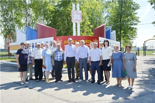 Яльчикский район посетила делегация Батыревского района