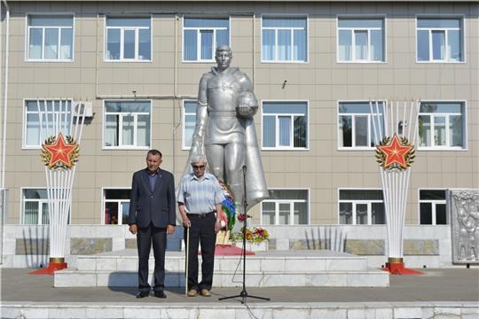 В Яльчикском районе прошел митинг, посвященный Дню памяти и скорби