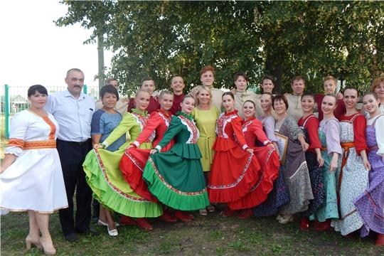 «Расцветай, чувашский край!» праздничный концерт, посвящённый Дню Республики в Яльчикском районе