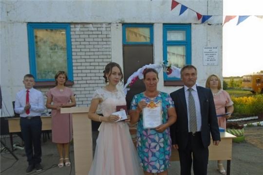Обучающиеся Кильдюшевской средней школы получили золотой знак ГТО