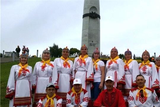 Байдеряковский народный хор выступил на гала-концерте, посвященном Дню Республики