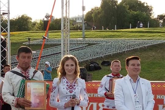 Матвеев А.В. - участник межрегионального конкурса гармонистов