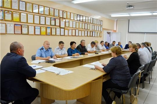 Состоялось заседание комиссии по профилактике правонарушений в Яльчикском районе