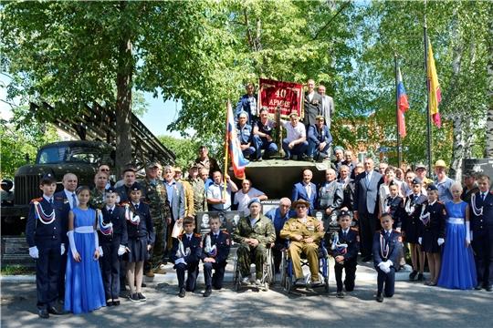 В День ветеранов боевых действий в Яльчикском районе открыли памятник землякам