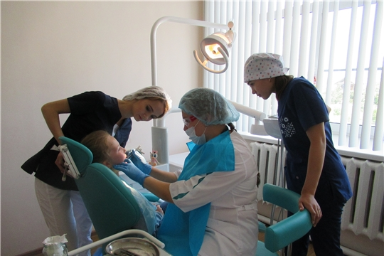 В БУ «Яльчикская ЦРБ» Минздрава Чувашии проходят производственную практику студенты медицинских ВУЗов