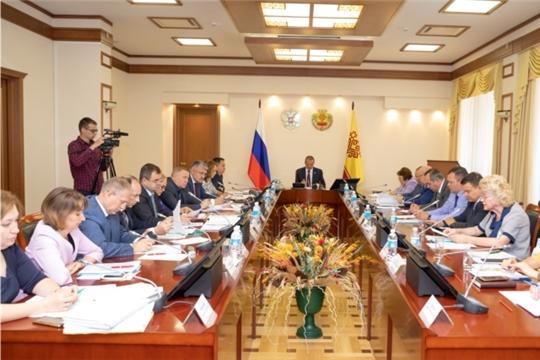 Михаил Игнатьев провел расширенное заседание Комиссии по координации работы по противодействию коррупции в Чувашской Республике