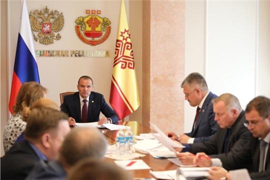 Глава Чувашии Михаил Игнатьев принял участие в заседании президиума Совета при Президенте России по стратегическому развитию и национальным проектам