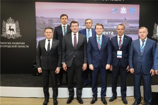 Глава Чувашской Республики принял участие во Втором федеральном форуме «Производительность 360»