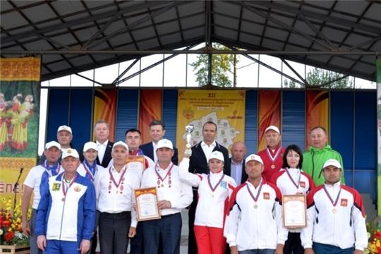 Команда Яльчикского района успешно выступила на XII Дне главы и муниципального служащего муниципального образования Чувашской Республики