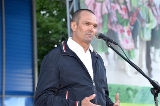 Михаил Игнатьев приветствовал участников XII Дня главы и муниципального служащего муниципального образования Чувашской Республики