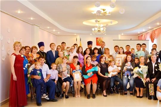 День семьи, любви и верности в Яльчикском районе