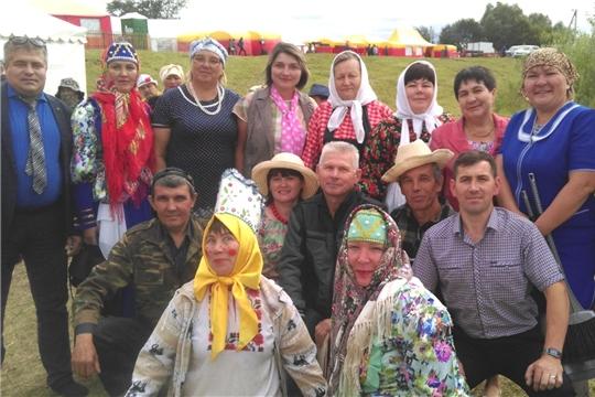 Коллективы Яльчикского района участвовали на открытом Республиканском фестивале театральных коллективов