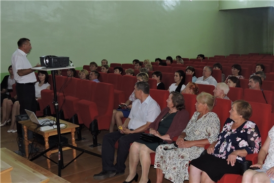 В  МБУК «Централизованная клубная система Яльчикского района Чувашской Республики» 18 июля состоялся показ кинофильма «Единичка»