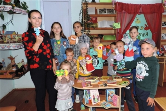 Квест-игра «Театральные потешки» в Малотаябинском сельском доме культуры
