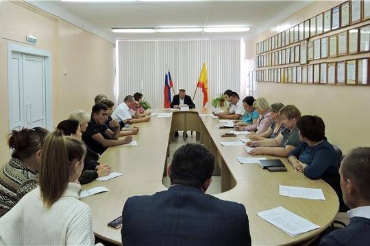 Состоялось заседание Межведомственной комиссии при главе администрации Яльчикского района