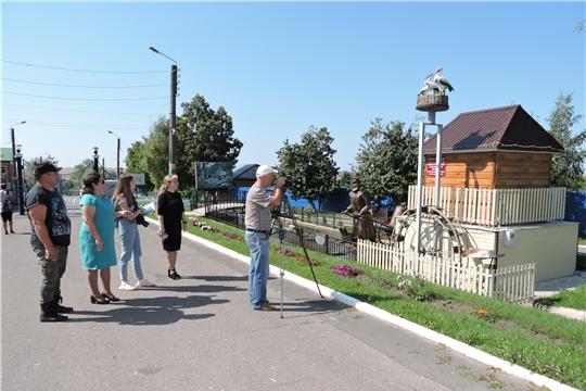 """Съемочная группа киностудии""""Чувашкино"""" посетила Яльчикский район"""