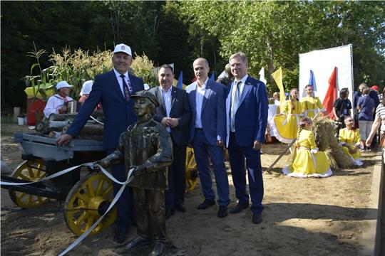 Делегация Яльчикского района участвовала на праздновании 550-летия города Чебоксары