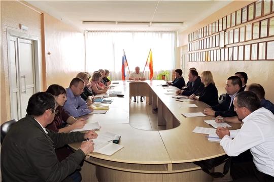 В Яльчикском районе состоялось заседание комиссии по координации деятельности в сфере формирования доступной среды для инвалидов и других маломобильных групп населения