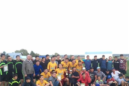 Первое место на турнире по футболу в селе Альшеево Республики Татарстани