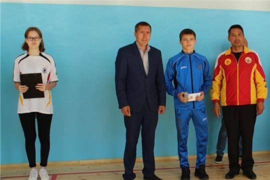 Учащиеся Большеяльчикской средней школы получили знаки отличия норм ВФСК «ГТО»
