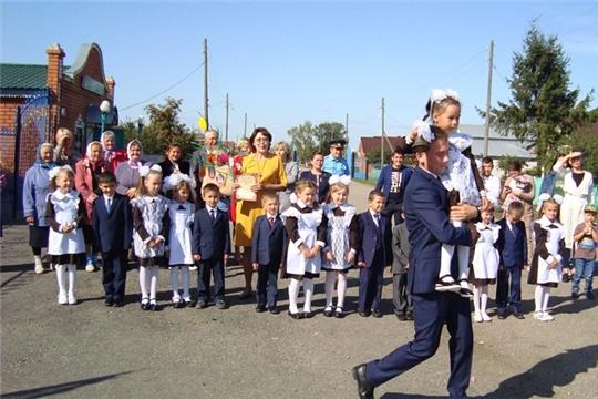 Светлый праздник Первого звонка в Байдеряковской ООШ