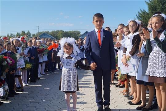 """В МБОУ """"Кошки-Куликеевская СОШ"""" прошел День знаний"""