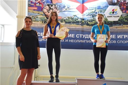 Яльчикские спортсмены внесли весомый вклад в победу сборной Чувашии по армспорту и гиревому спорту в первых Всероссийских студенческих играх национальных и неолимпийских видов спорта