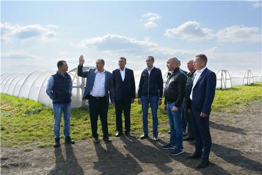 Яльчикский район с рабочим визитом посетил Глава Чувашии Михаил Игнатьев