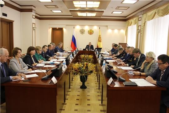 Состоялось заседание Комиссии по профилактике правонарушений в Чувашской Республике