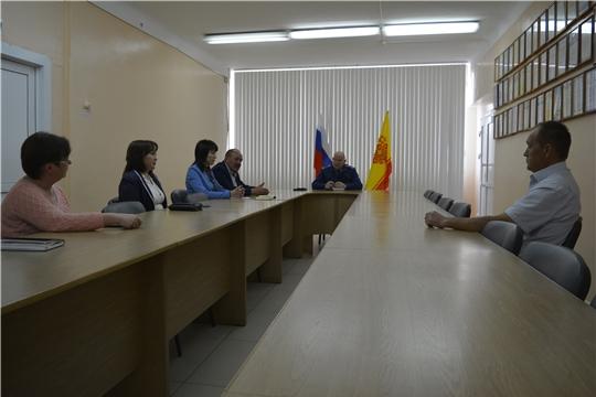 Прокурором Яльчикского района Сергеем Фирсовым проведен прием граждан
