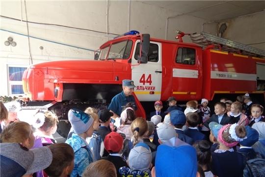 День открытых дверей в пожарной части №44 противопожарной службы МЧС Чувашии