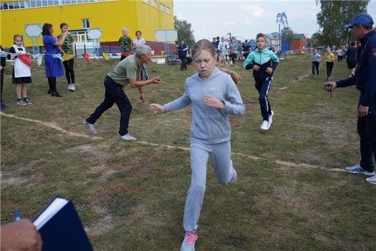 Легкоатлетический кросс в МБОУ «Яльчикская СОШ» в честь Дня села Яльчики