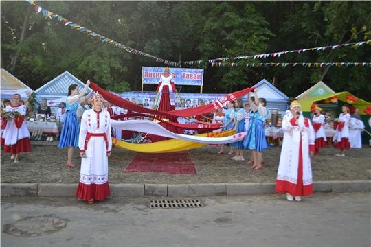 Делегация Янтиковского района - на праздновании 550-летия столицы Чувашии