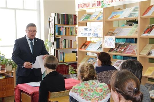 Единый информационный день в Цивильском районе вынес на обсуждение актуальные вопросы