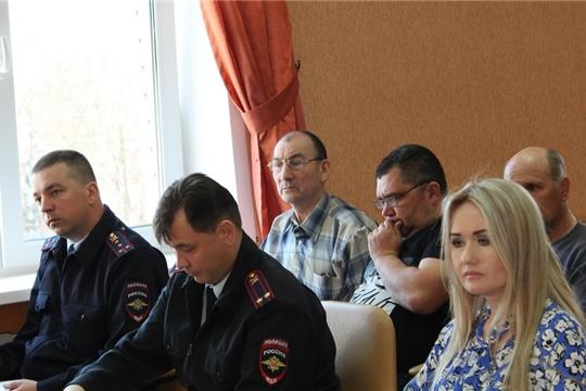 Очередное заседание оргкомитета проведению Дня Победы в Цивильском районе