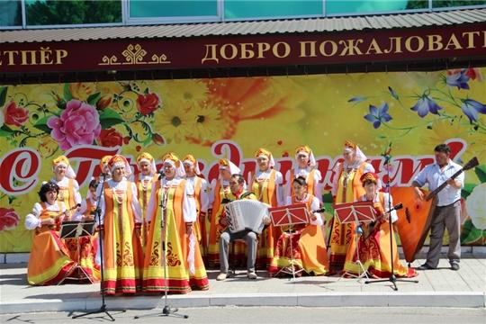День России для жителей и гостей Цивильского района проходит в торжественной и праздничной атмосфере