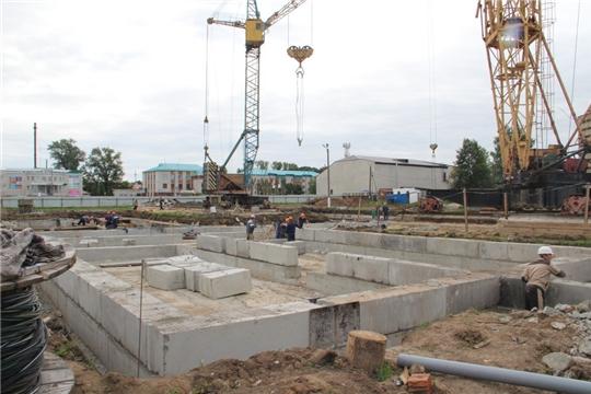 Состоялось выездное совещание по строительству детского сада на 240 мест в г. Цивильске
