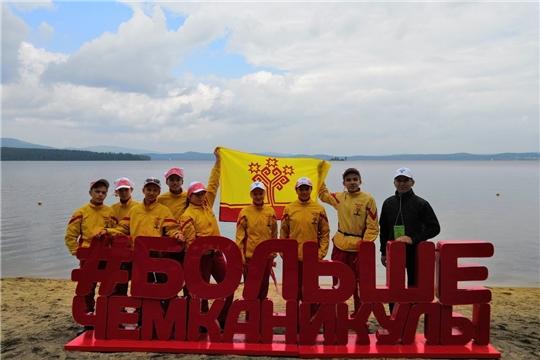 Команда Цивильского района достойно представила Чувашию на Всероссийском слёте юных туристов