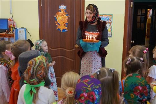 В Чуварлейском детском саду прошли Рождественские колядки