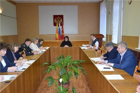 В администрации района состоялось расширенное заседание межведомственной комиссии по вопросам повышения доходов консолидированного бюджета