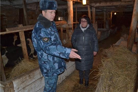 Глава администрации Алатырского района с рабочим визитом посетила ФКУ КП-8 УФСИН по Чувашской Республике - Чувашии