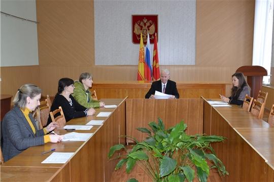 Заседание Общественного совета Алатырского района