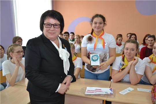 Мария Маколова – стипендиат Главы Чувашской Республики за особую творческую устремленность